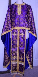 Orthodox Vestment, Byzantine Vestment for Priest